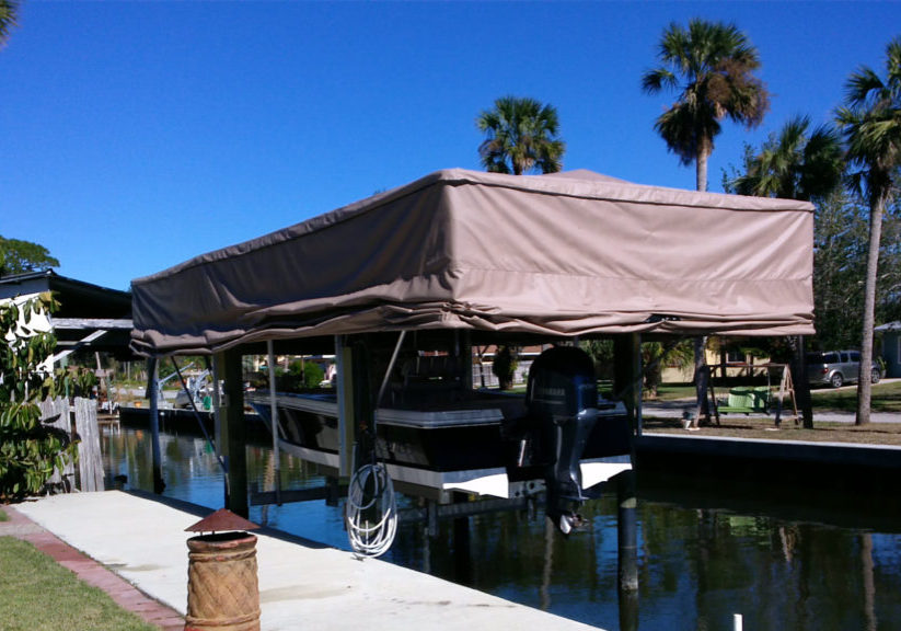 Boat Cover mid-way
